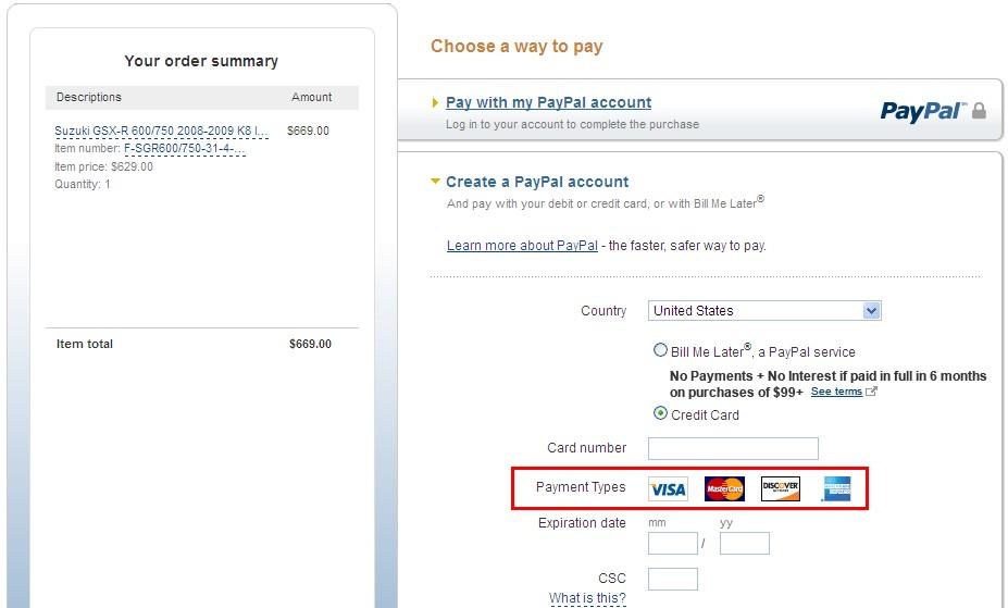 pagar con su tarjeta de débito o de crédito